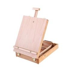 미술 그림 화구 가방 원목 도구 상자 이젤화구 박스