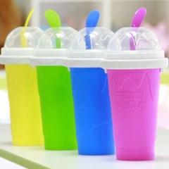 얼려먹는 아이스 슬러시컵 슬러쉬 메이커 얼음 컵