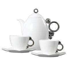 Geometrica 지오메트리카 플래티넘 커피&주전자 세트 3(_(319233)