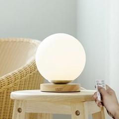 밀키 글래블러 단스탠드 미니 LED 침실 조명 무드등 수유등