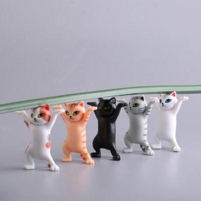 청년토이 들어주는 고양이 피규어 5종세트