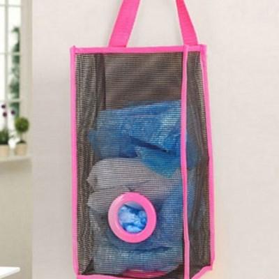 비닐봉지 보관함 뽑아서 사용하는 비닐수납가방