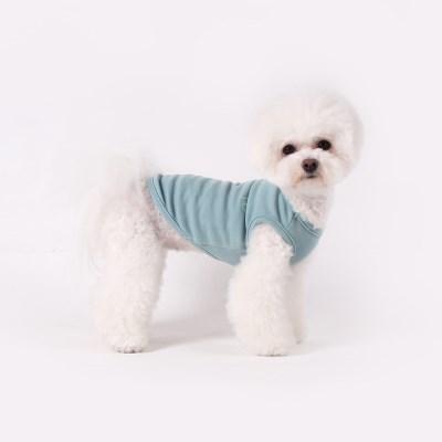 [T.코튼 티셔츠]Cotton T_Blue