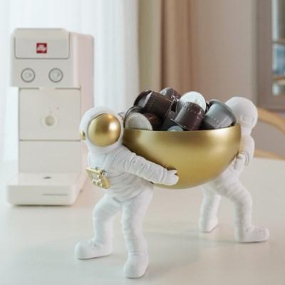 어부바 우주인 커피 캡슐 보관함