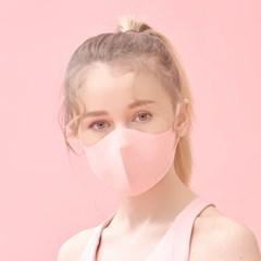 에어길 빨아쓰는 99%항균 패션 연예인마스크 핑크 연핑크 마스크