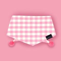 젤라또 폼폼 스카프 (핑크)