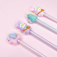 [맙소사잡화점] 신비한 동물 미니 피규어 젤 펜
