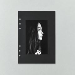 A5 6공 베이직 앨범리필 - 블랙
