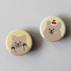 [10x10단독 할인]영이의숲_꽃카 그립톡 2종