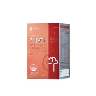 CMG제약 기억모아 기억력개선 징코 60캡슐 1개월 분_(1397032)