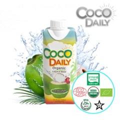 코코데일리 유기농 코코넛워터 1박스 (12개입)