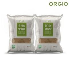 유기농 사탕수수 100% 비정제설탕 원당 유기농 황설탕 5kg x 2개