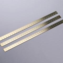 LOG Raw Brass Ruler  31Cm  로그 황동자 310mm