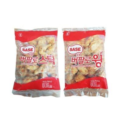 사세 버팔로윙/버팔로스틱 1kg 택_(2640866)