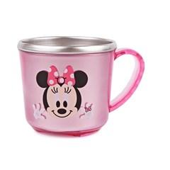 디즈니 미니마우스 투명 논슬립 스텐컵 이중물컵 어린이 유치원 컵