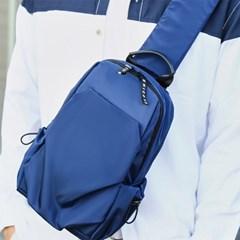 남자 여자 남녀공용 미니멀 여행용 깔끔한 생활방수 슬링백