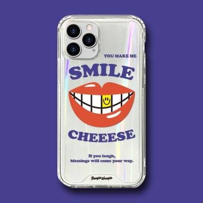 범퍼클리어 케이스 - 치이즈(CHEEESE)