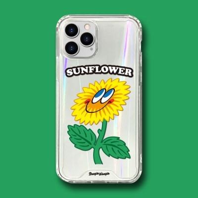 범퍼클리어 케이스 - 해바라기(Sunflower)