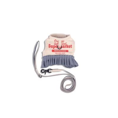 [monchouchou] Frilly Supermarket Harness Set_Ivory Soap
