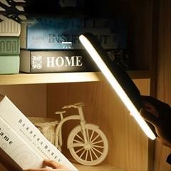 무선 독서 공부 LED 붙이는 등 USB충전 바조명