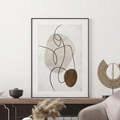 포인트바디 추상화 그림 액자 포스터