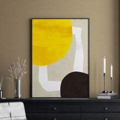 포인트온 추상화 그림 액자 포스터