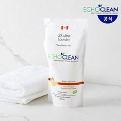 캐나다 에코크린 베이비 Baby 액상세탁세제 (리필_600ml