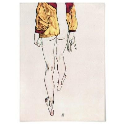 패브릭 포스터 빈티지 일러스트 그림 액자 에곤 쉴레 74