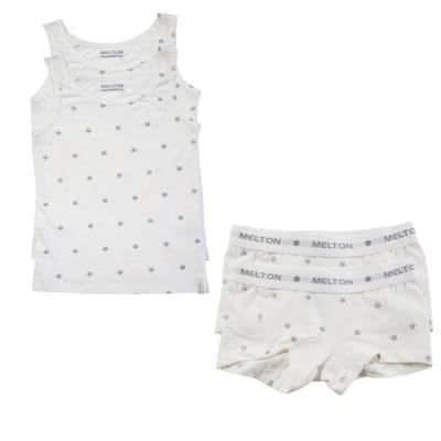 데이빗앤케이트 유아 속옷 내의 2세트 - 실버스타