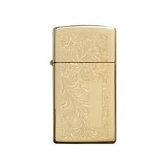 [ZIPPO] 1652B Slim® Brass Venetian®_(2116452)