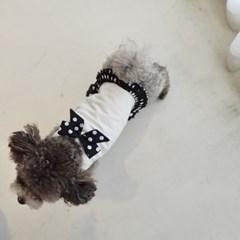나의 블랙 쁘띠탑 강아지원피스 플럼스튜디오