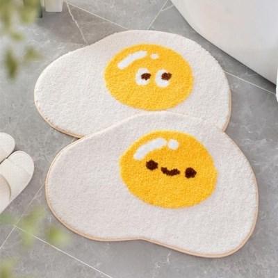 에그 발매트 계란후라이 매트 욕실 주방 다용도 미끄럼방지 매트