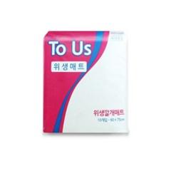 투어스 프리미엄 위생깔개매트 언더패드 1박스 [200매]