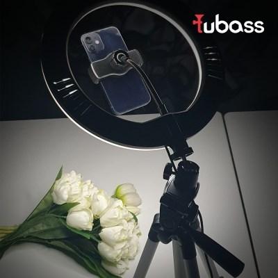 튜바스 TBS-M26E01 LED 링라이트조명 유튜브 방송장비