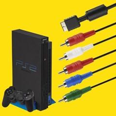 PS2 PS3 호환 컴포넌트 플레이스테이션2 AV케이블