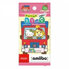 튀어나와요 동물의 숲 amiibo+ amiibo 카드(산리오캐릭터즈 컬래버레