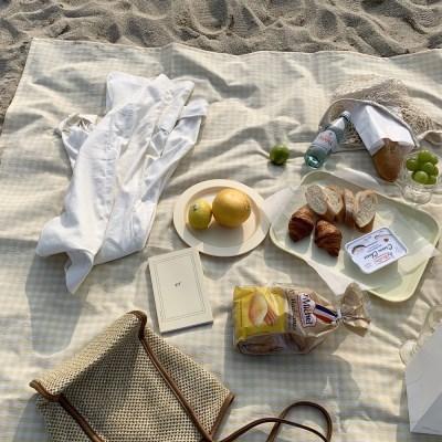 레몬선데이 피크닉& 캠핑매트(방수 전용파우치 소풍 돗자리)