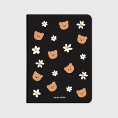 Dot flower merry-black(아이패드-커버)_(1881681)