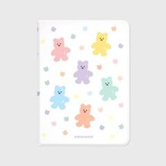 Bear friends-white(아이패드-커버)_(1881673)