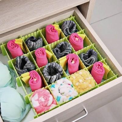 홈슨 서랍정리 칸막이보드 4p세트 속옷 서랍파티션
