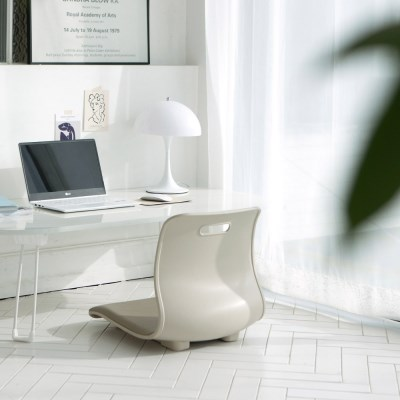 로이 등받이 좌식 의자 3colors