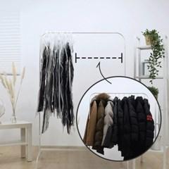 벨브형 옷걸이 압축팩
