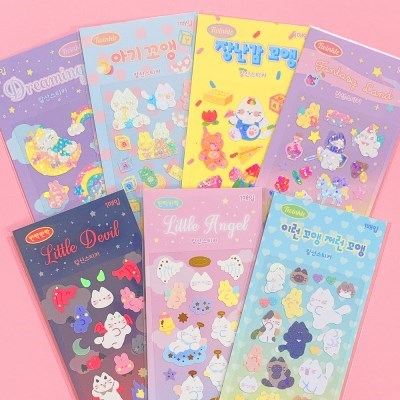 [SET] 꼬앵이 Sticker Pack