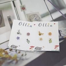 ollia 올리아 벌하모니 4종셋트 귀걸이