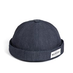 LB DENIM BRIMLESS CAP (denim)