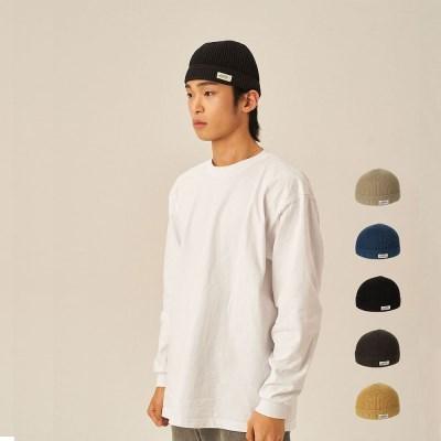 여름비니 T212AACU10_CTN WHITE LABEL WATCH CAP