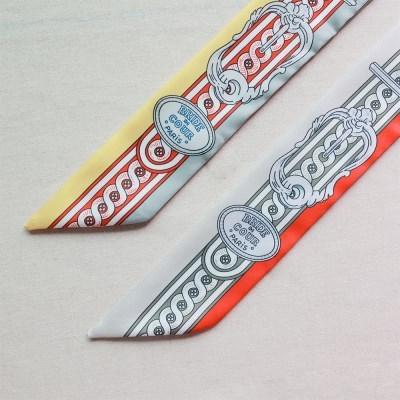 파리 엠블럼 트윌리 스카프 (2 colors)