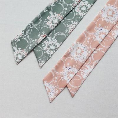판타지 플라워 트윌리 스카프 (2 colors)