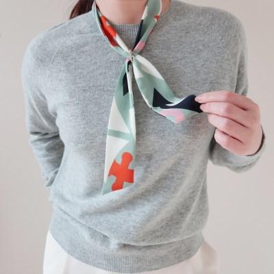 캔디 사인 트윌리 스카프 (2 colors)