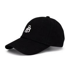 RBB 시그니처 스몰 로고 볼캡 블랙